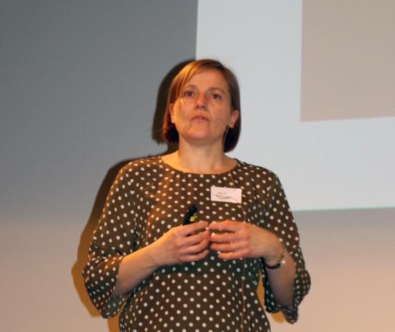 Anke Oberender, leder for Videncenter for Cirkulær Økonomi i Byggeriet i Danmark, kunne fortelle at det ikke finnes grenseverdier for seksverdig krom ved gjenbruk av betong i Danmark.