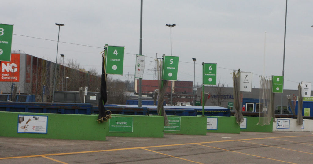 Gjenbruksstasjonen på Haraldrud er igjen klar til å ta imot besøkende fra 1. april.
