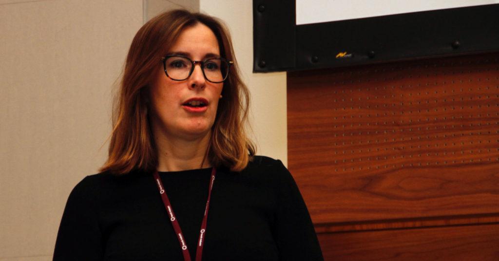Emanuelle Maire er Head of Unit - Sustainable production, products and consumption, DG Environment i EU-kommisjonen. På sesjonen om sirkulær industri på konferansen Industri Futurum orienterte hun om arbeidet med en sirkulær handlingsplan i EU.