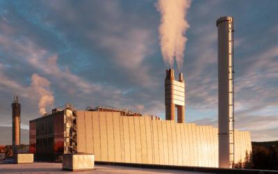 Dersom avgiftsforslaget blir vedtatt vil Fortum Oslo Varmes anlegg på Klemetsrud måtte betale rundt 30 millioner kroner i CO₂-avgift neste år. Foto: Fortum Oslo Varme.