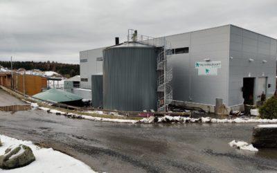 FOR LITE KUNDER: Mjøsanlegget produserer biogass basert på matavfall fra nesten alle innbyggerne på indre Østlandet. Men lokale buss-selskaper har ikke villet prioritere biogass fra anlegget i sine anbud.