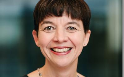 TALSMANN: Jofri Lunde er næringspolitisk sjef for NHO Transport. Hun  er kritisk til at virkemidlene for å velge biodrivstoff blir borte. Foto: Eva Storm Hanssen