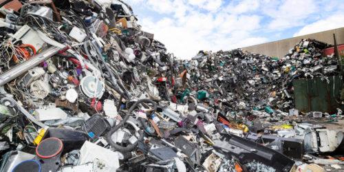 EE-avfall Stock