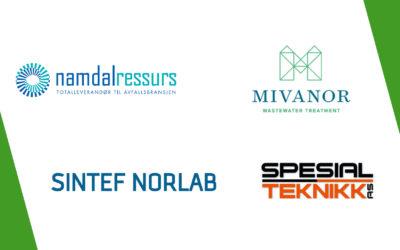 Kretsløpet - bedriftspresentasjoner: Namdal Ressurs, Mivanor, Sintef Norlab og Spesial Teknikk. Avfall, gjenvinning og resirkulering.