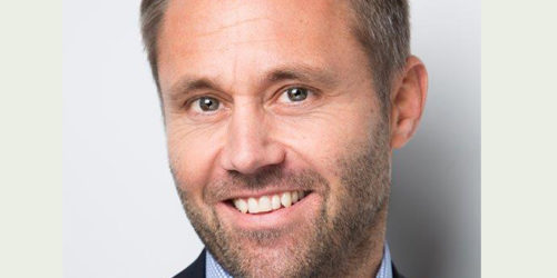 Salgs- og markedsdirektør Fredrik Eide-Aass i Stena Recycling er strålende fornøyd med selskapets avtale med ABB. Foto Stena