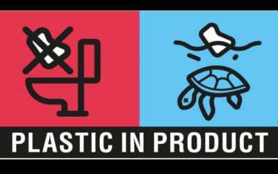 Det er plastforurensningen i havet som er bakgrunnen for SUP-direktivet og  fra og med 1. oktober skal produkter som inneholder plast utstyres med tydelig merking som skal fortelle hvilken fare de utgjør.